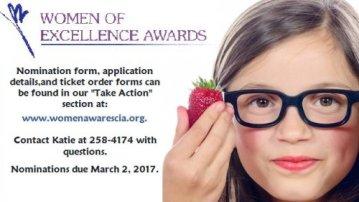 Women of Excellence Banquet